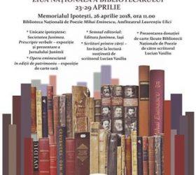 Sâptămîna Bibliotecilor la Memorialul Ipoteşti