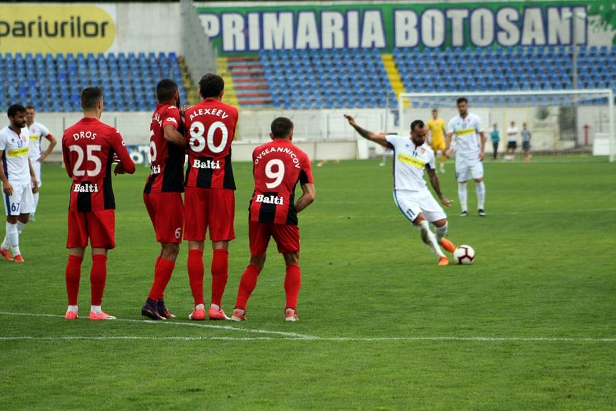 Amical: FC Botoșani 2-0 FC Zaria Bălți