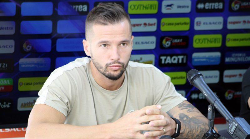 Andrei Dumitraș și căpitanul Andrei Burcă cheamă suporterii să fie alături de echipă