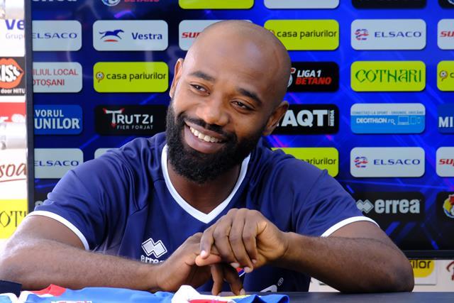 """Karaboue: """"Am vorbit și cu Hervin Onghenda și m-a sfătuit să vin la Botoșani"""""""