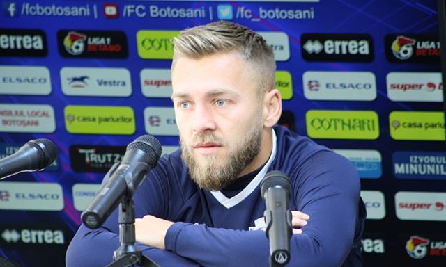 Cătălin Golofca la conferința de presă înaintea partidei cu Dinamo