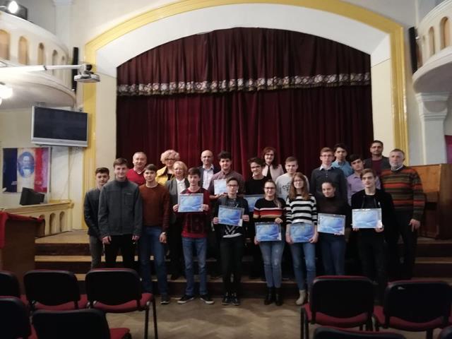 Tineri matematicieni din două ţări s-au întrecut la Botoşani