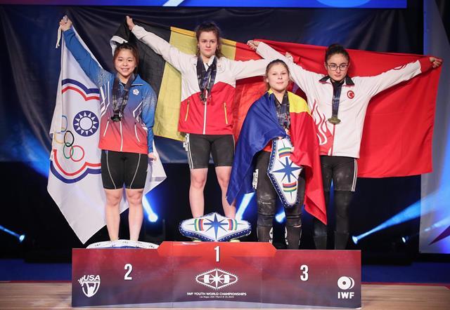 HALTERE:   Medalii pentru botoșăneanca Andreea Cotruță la Campionatele Mondiale pentru Juniori II