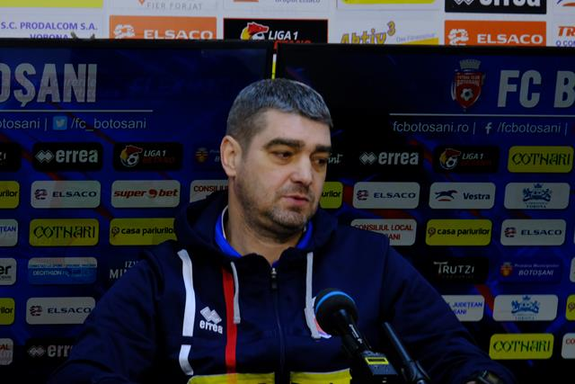 """LIVIU CIOBOTARIU:  """"Începe un nou campionat pentru noi, un Playout foarte disputat cu echipe foarte bune"""""""