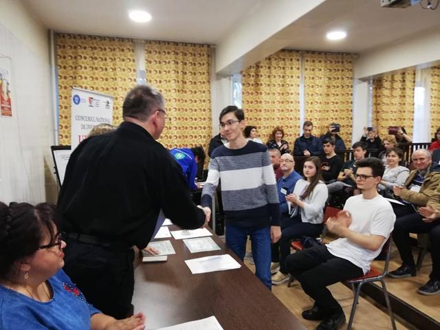 Informarticienii de aur ai ţării au fost la Botoşani