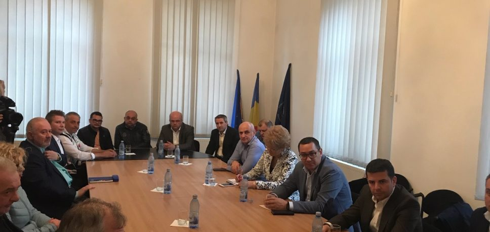 Întânire a oamenilor de afaceri din Botoșani și conducerea centrală a Partidului PRO România la Camera de Comerț