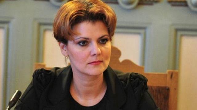 Lia Olguța Vasilescu se întoarce în Guvern!  Va fi consilierul premierului Dăncilă