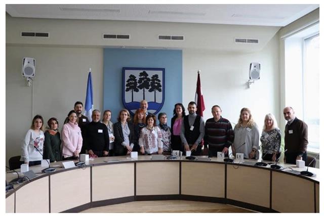Reuniune transnaționala de proiect Erasmus + Letonia