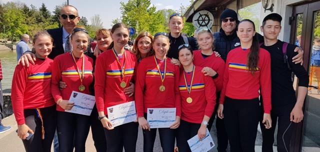 Canotorii de aur din Botoșani, din nou pe Podium!  -VIDEO/FOTO