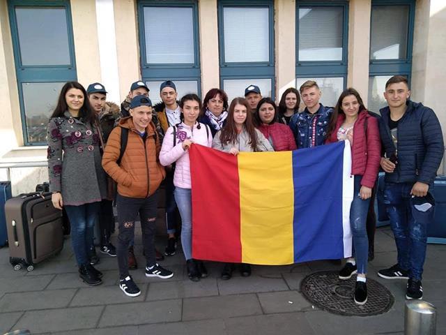 """Liceul Tehnologic Todireni derulează proiectul Erasmus+ intitulat: """" Euro mobilitate și învățare în formarea vocațională""""."""