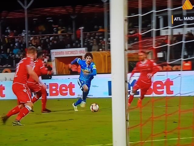 FC Botoşani – Dinamo 1-0. Execuția fabuloasă a lui Roman făcut diferența