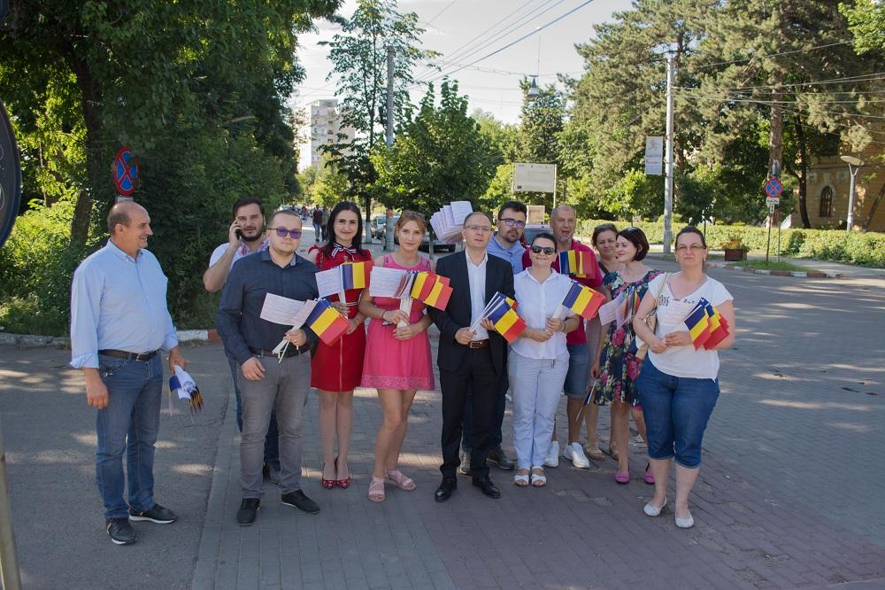 PSD Botoșani sărbătorește Ziua Drapelului Național