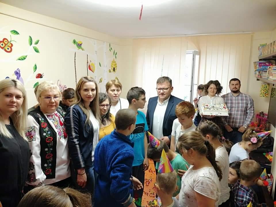 Primul spațiu dedicat copiilor internați la Secția de Pediatrie a Spitalului Mavromati a fost inaugurat!