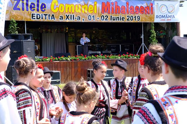 Comuna Mihălășeni a îmbrăcat, la început de iunie, haine de sărbătoare  – VIDEO/FOTO
