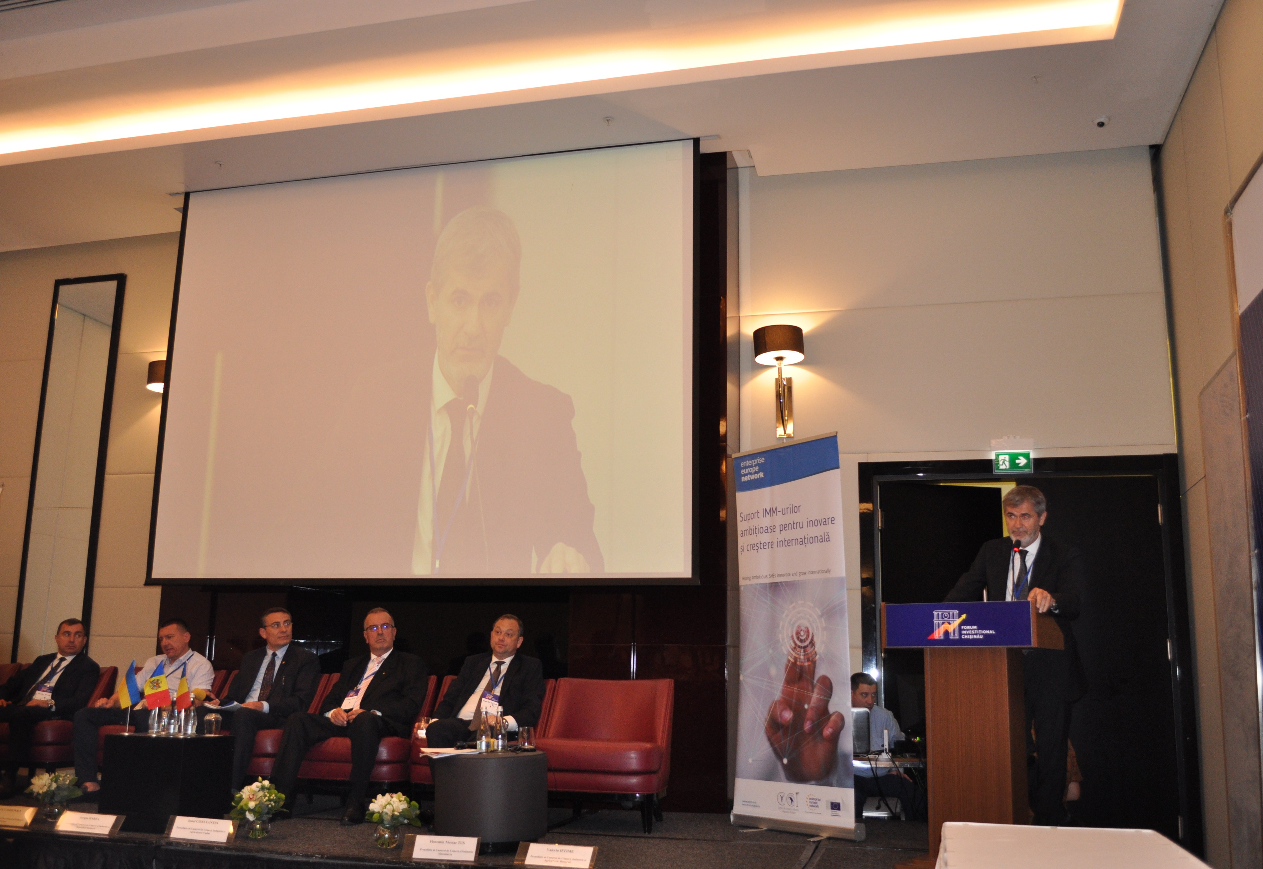 Valeriu Iftime, a participat la a treia ediţie a Forumului de Afaceri Trilateral Republica Moldova-România-Ucraina