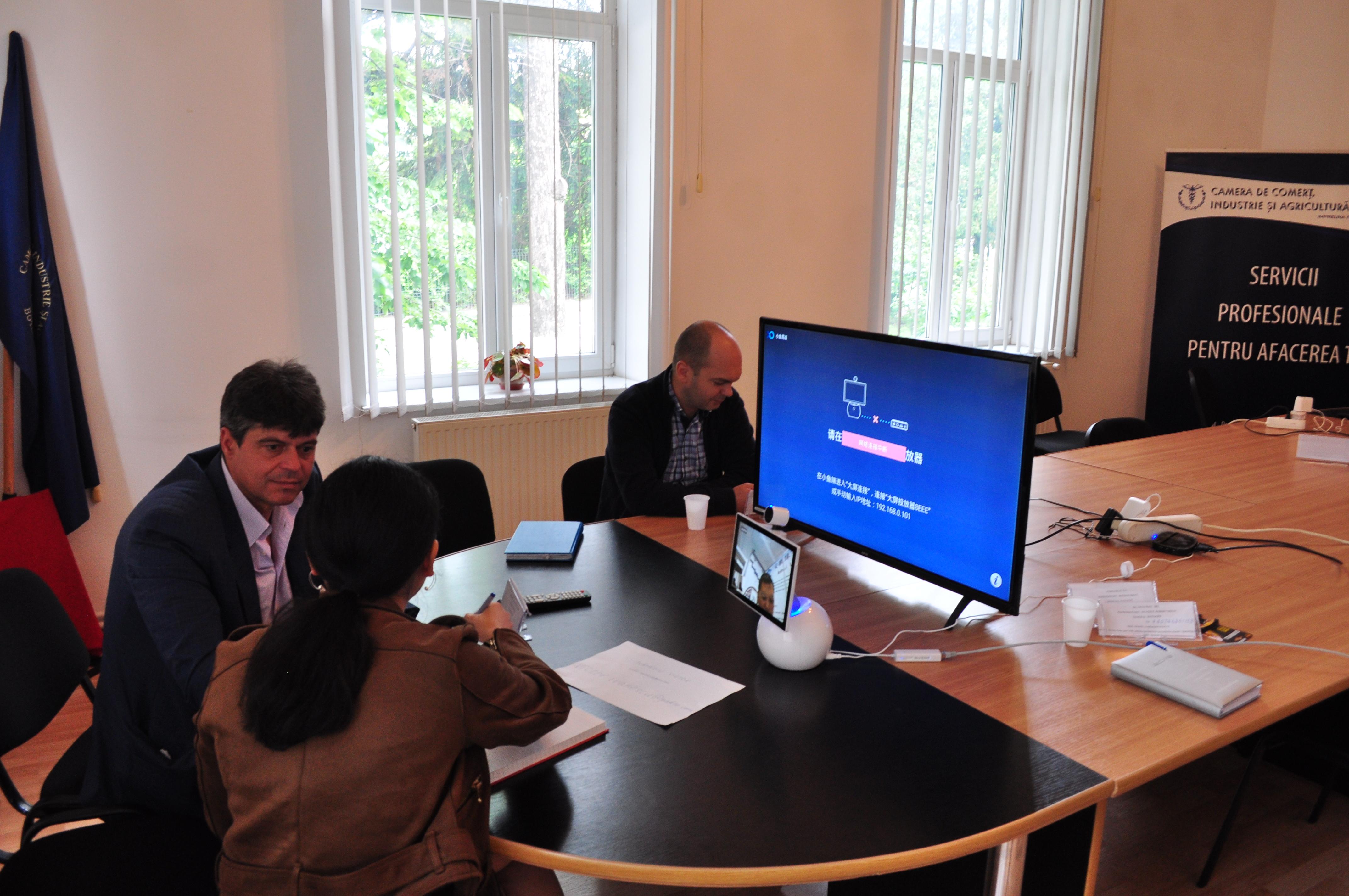 Mai multe companii din judeţul Botoşani și Suceava au participat, virtual, la expoziţia China Brand Fair
