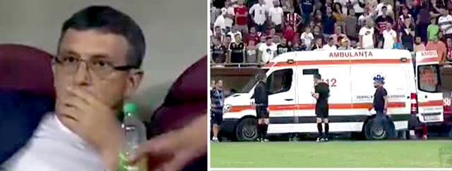 Eugen Neagoe, antrenorul echipei Dinamo a făcut infarct în timpul meciului disputat pe Arena Națională