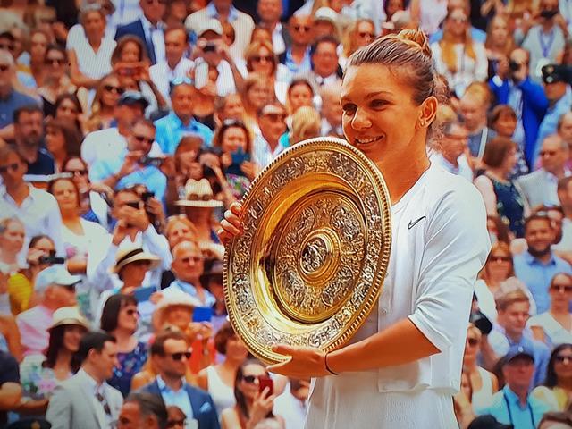 FORMIDABIL  Simona Halep a câștigat Turneul de tenis de la Winbledon -FOTO