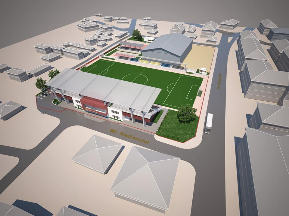 SĂVENI: Complexul Sportiv cu capacitatea de 800 locuri  în valoare de peste 6 milioane lei  a intrat în procedura de licitație