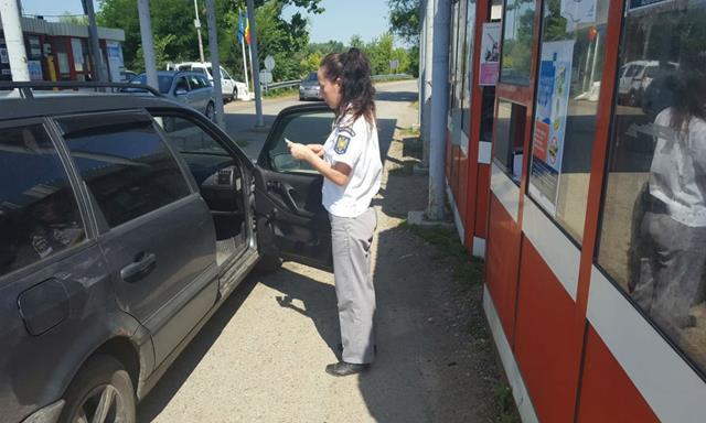 Ucrainean cu permis de conducere fals, depistat la PTF Rădăuţi Prut
