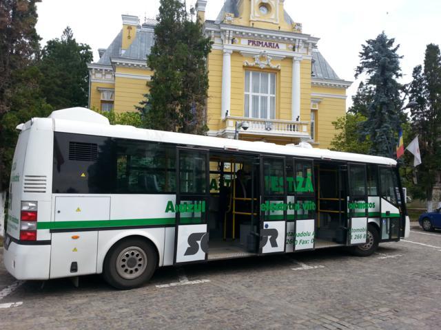 Autobuze la Botosani, pe perioada implementării proiectului de modernizare a transportului cu tramvaiul