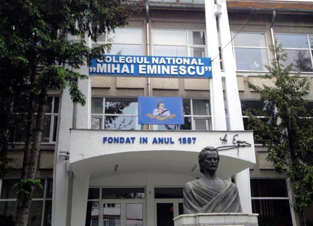Colegiul Național M. Eminescu este FRUNTEA,  în urma rezultatelor examenului de bacalaureat