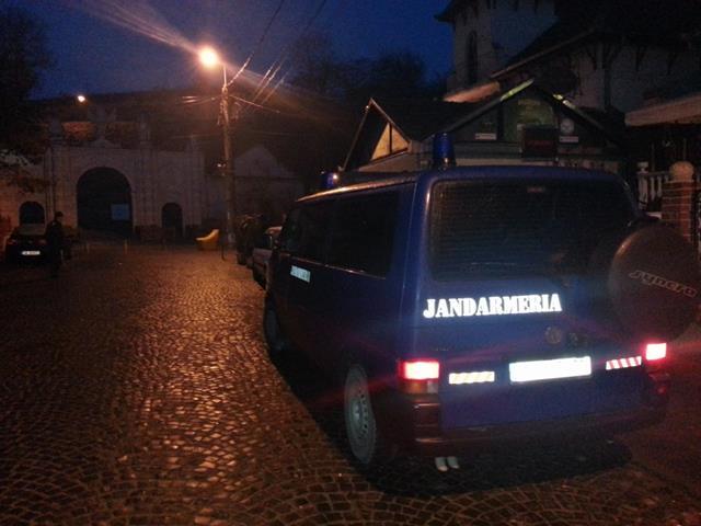 Apeluri 112 în municipiul Dorohoi, soluționate de jandarmi