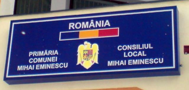 COMUNICAT Primăria comunei Mihai Eminescu :  Anunț cu privire la depozitarea în mod necorespunzător a deșeurilor, a curățeniei șanțurilor de scurgere și a spațiilor verzi