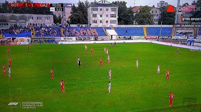 FC BOTOȘANI – GAZ METAN MEDIAȘ 1-1.  Egal obtinut cu mari emoții de elevii lui Croitoru, în fața propriilor suporteri