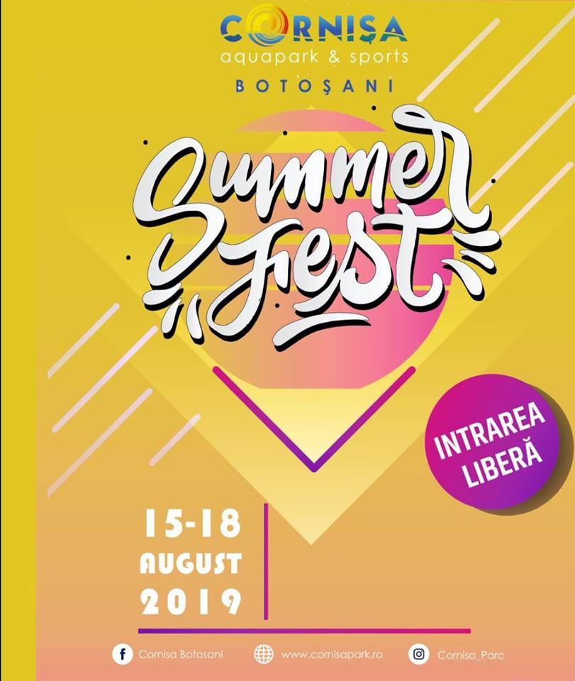 Parcul Cornișa se pregătește de patru zile de SUMMER FEST