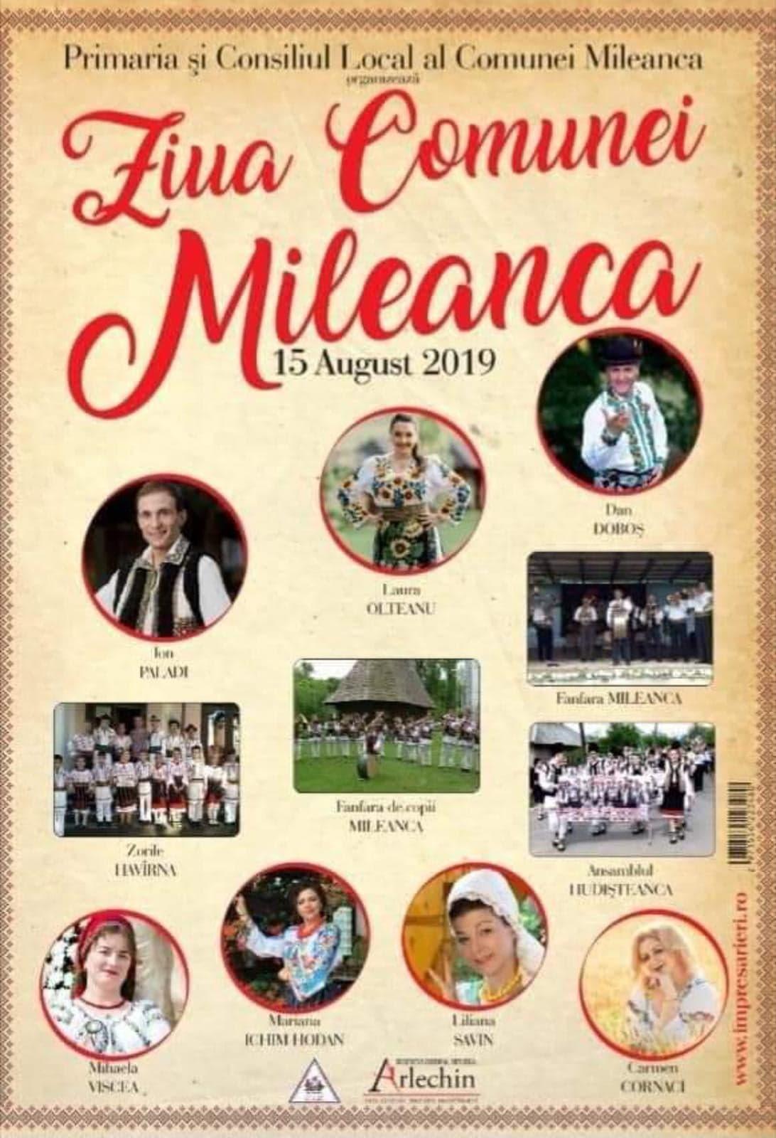 Comuna Mileanca se pregătește de sărbătoare