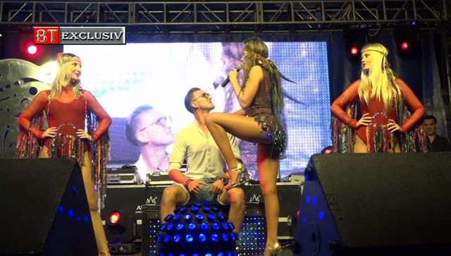 VIDEO/FOTO- A dat norocul peste un tânăr din Ștefănești. Acesta a urcat pe scenă alături de Anna Lesko.  VEZI CE A URMAT