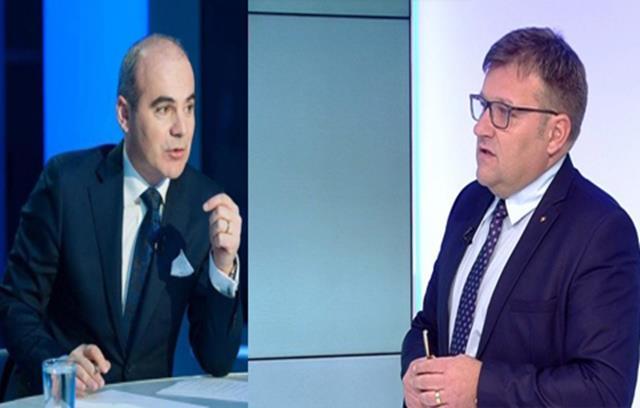Scandal MONSTRU între Rareș Bogdan și Marius Budăi, în direct, la un post național de televiziune