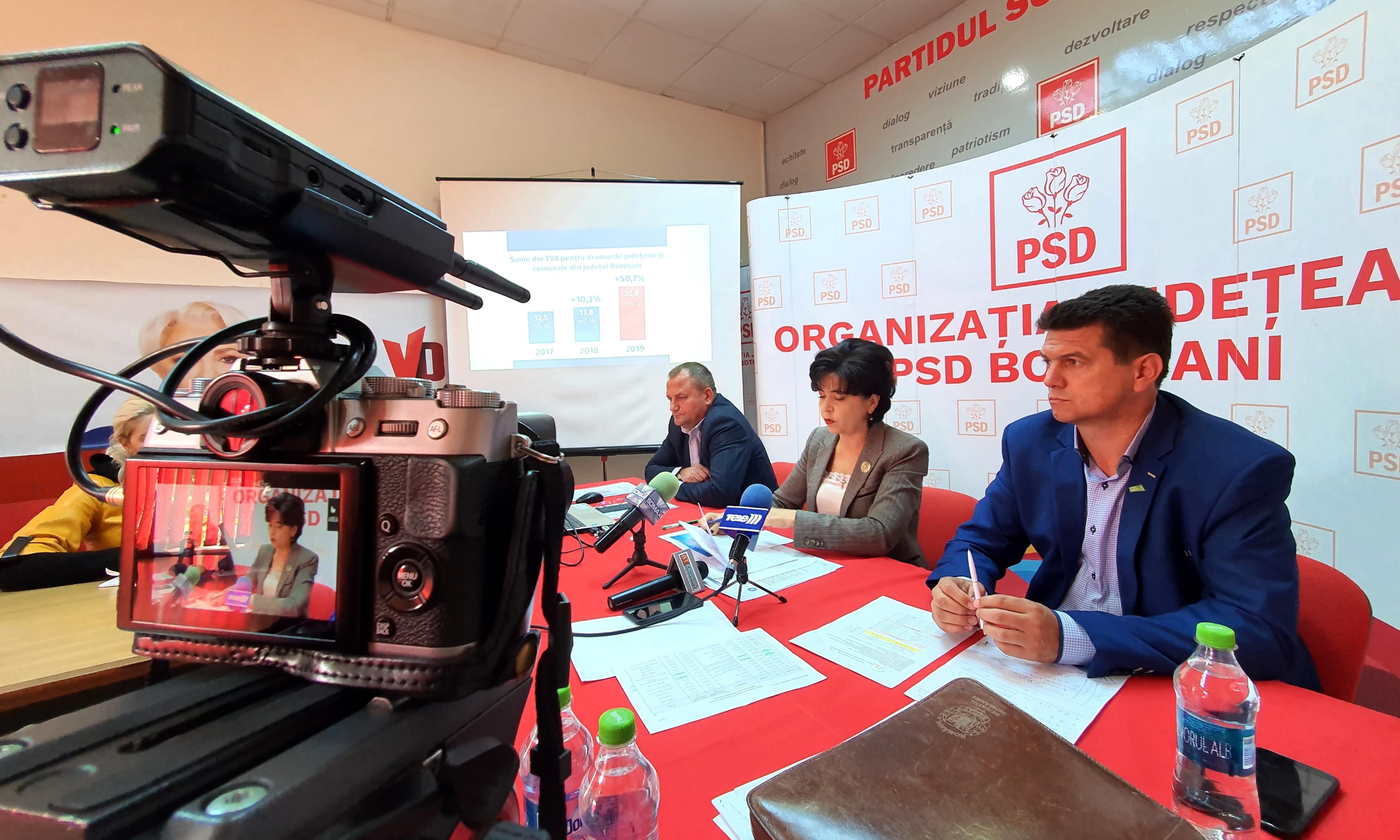 VIDEO / Senatorul Doina Federovici anunță investiții record în infrastructura rutieră județeană