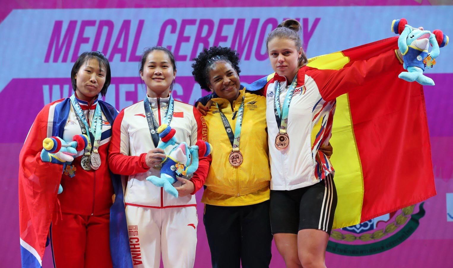Loredana Toma a cucerit două medalii de bronz la Campionatele Mondiale de Haltere