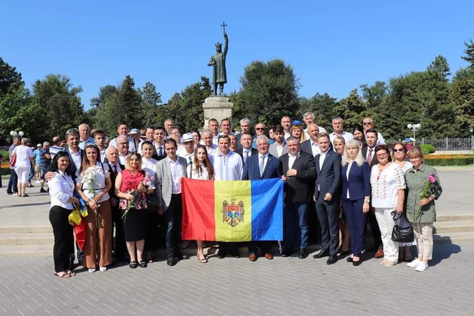 Senatorul Costel Șoptică prezent la Chișinău cu ocazia Zilei Limbii Române!
