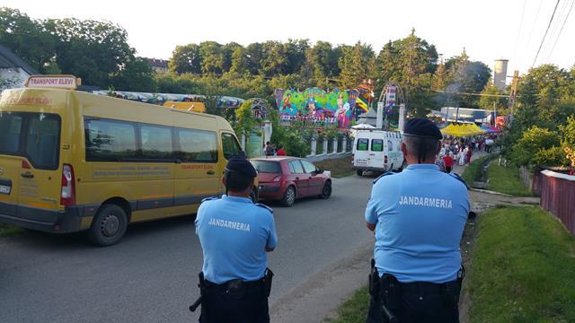 Jandarmii alături de cetățeni la manifestările publice