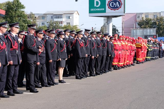 FOTO/ Ziua Pompierilor din România, sărbătorită și la Botoșani