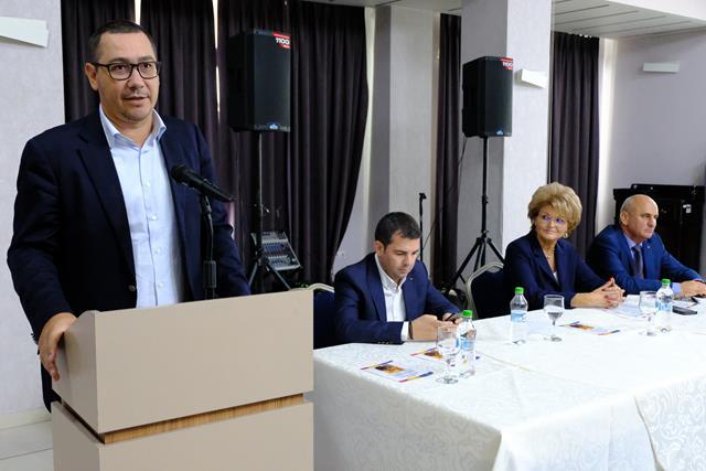 Victor Ponta, propunere: România redusă la 15 județe