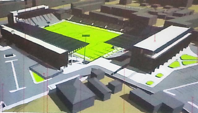 Au fost făcuți primii pași pentru modernizarea Stadionului Municipal cu bani de la CNI