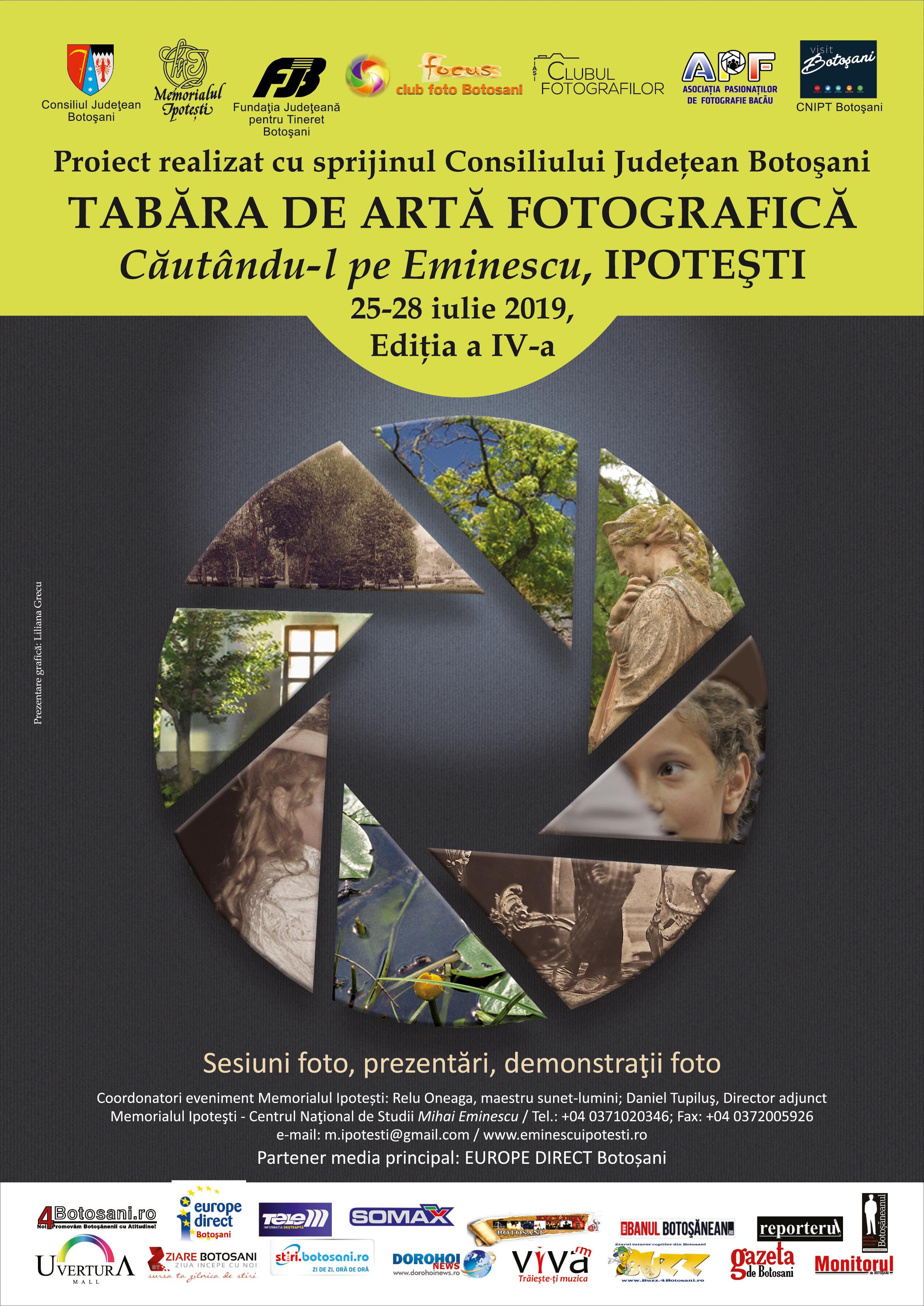 """Expoziție de fotografie""""Căutandu-l pe Eminescu"""" – ediția a IV-a"""