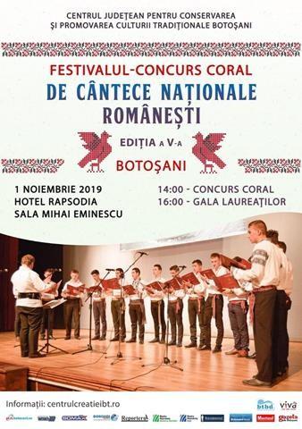 Festivalul-Concurs Coral de Cântece Naţionale Româneşti