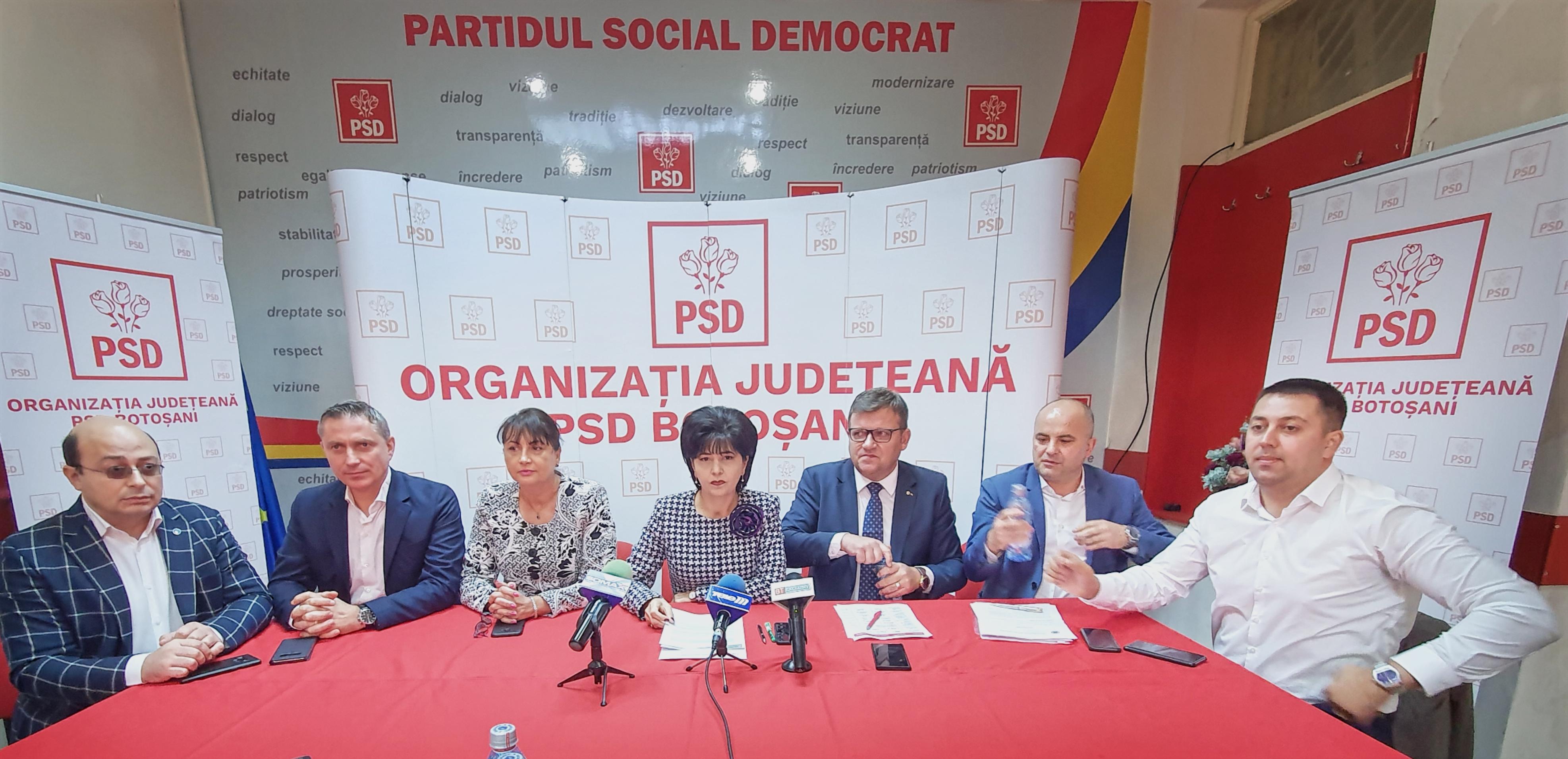 Președintele PSD Botoșani, apel către reprezentanții PNL