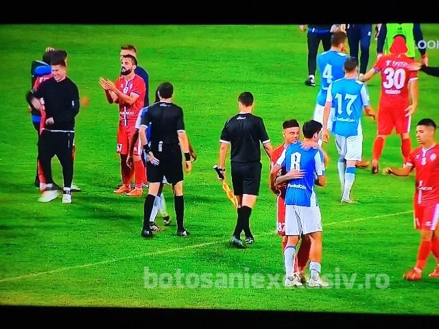 Spectacol total făcut de botoșăneni pe Municipal. Poli Iași-FC Botoșani 0-3