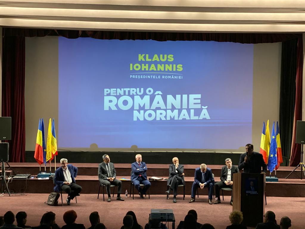Ședința cu peste 300 de PNL-iști în perspectiva câștigării alegerilor prezidențiale