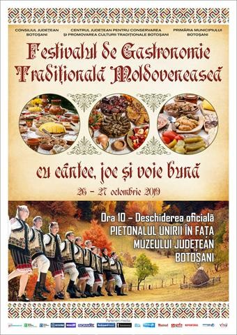 Festivalul gastronomiei traditionale moldovenesti, la Botosani