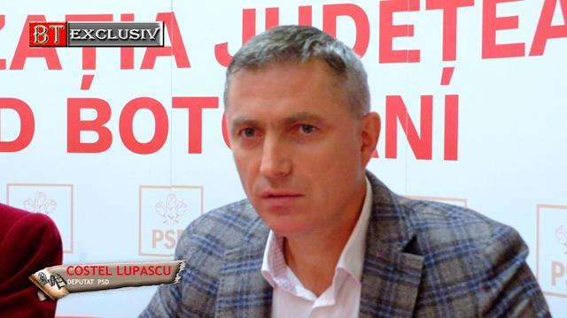 """Deputat Costel Lupașcu: """"Sunt convins că moțiunea nu va trece"""""""