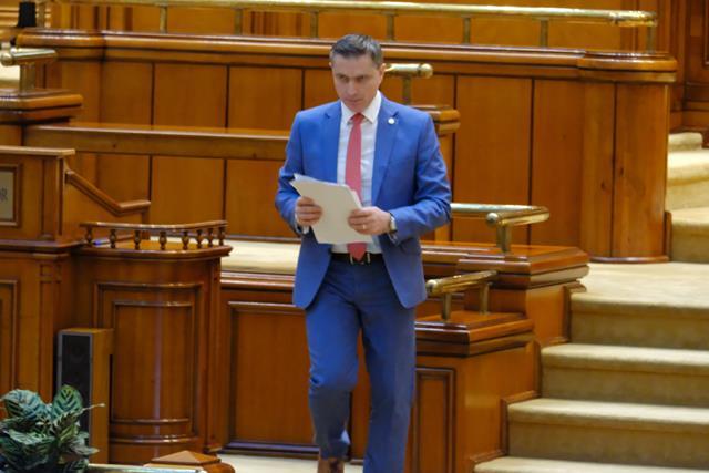 TENSIUNI ÎN PARLAMENT:  PONTA L-A ÎMBRÂNCIT PE DEPUTATUL PSD COSTEL LUPAȘCU