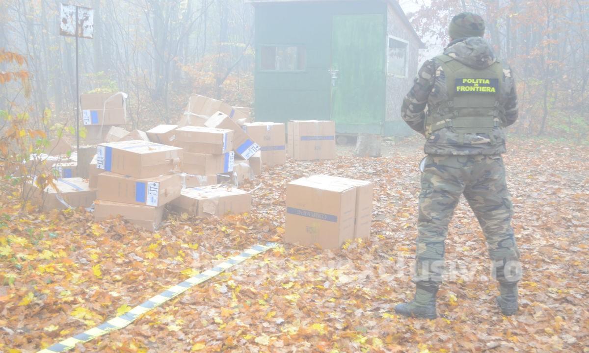 Focuri de armă la frontiera de est pentru reţinerea  unor contrabandiști de ţigări