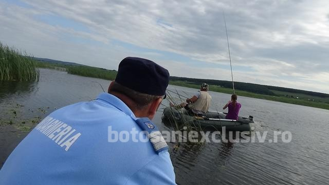 Pescuit ilegal sancționat de jandarmi